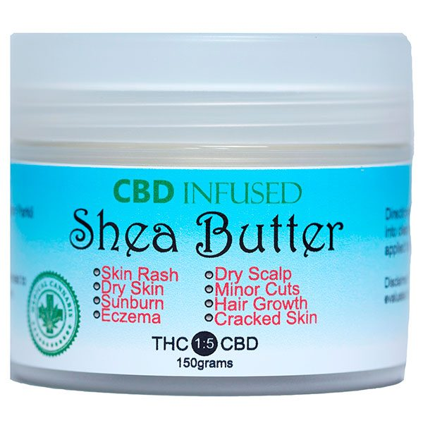 CBD Infused Shea Butter